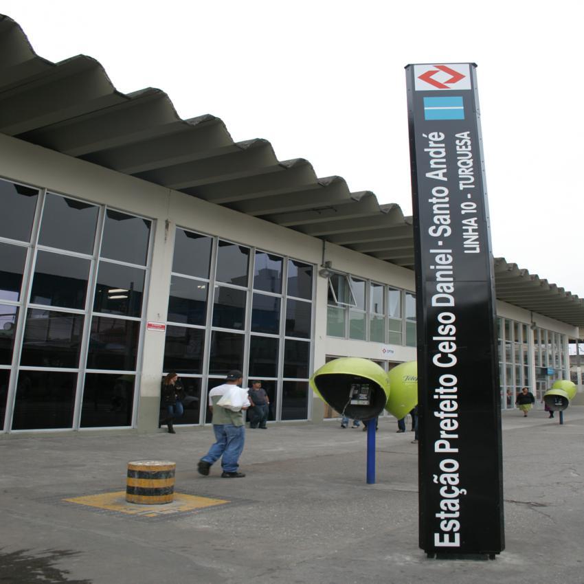 estação de trem