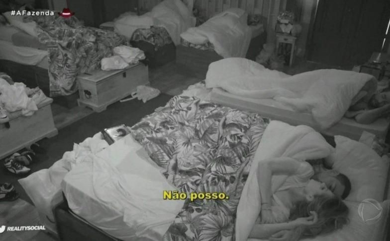 borel e dayne na cama