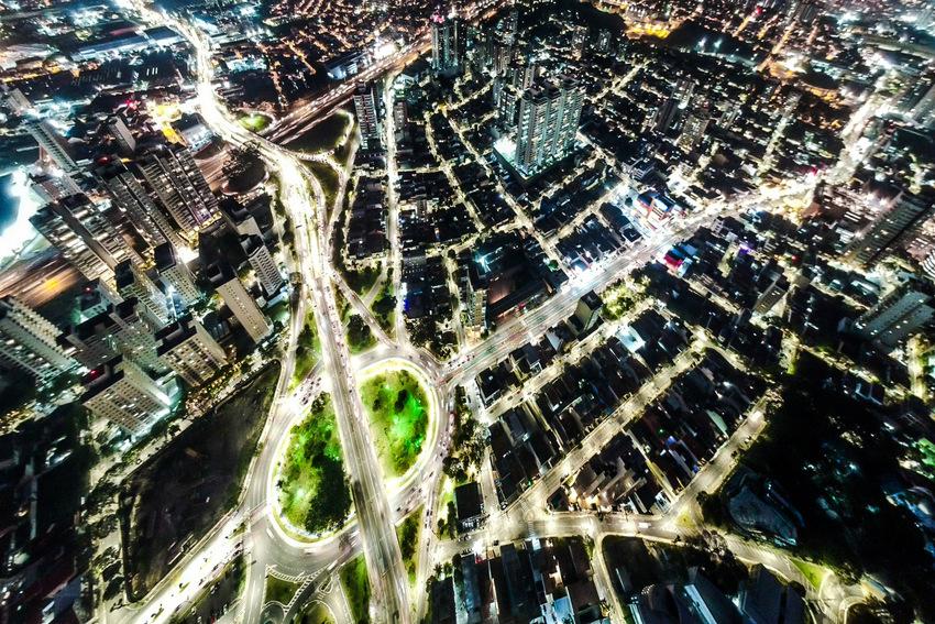 vista aérea do Paço de São Bernardo