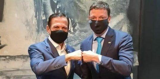 governador e secretário de justiça do estado de são paulo