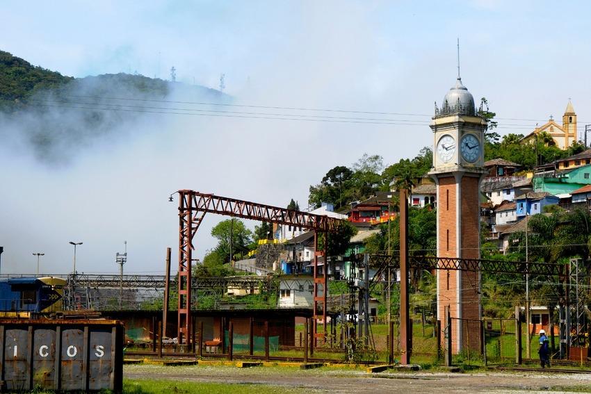 ponto turístico em vila de paranapiacaba