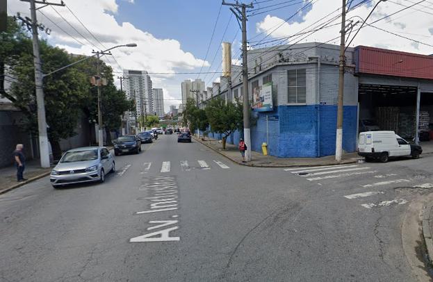 cruzamento da avenida industrial com rua conselheiro justino